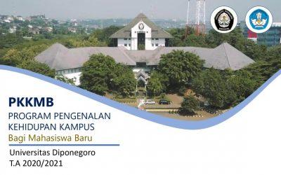PERUBAHAN Pengumuman Bagi Mahasiswa Baru Tahun Akademik 2020/2021 Universitas Diponegoro